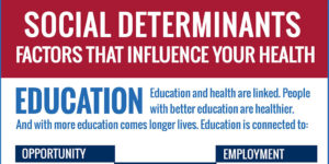 Infographic: Education and Social Determinants of Health