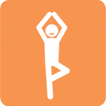 Icon of person exercising