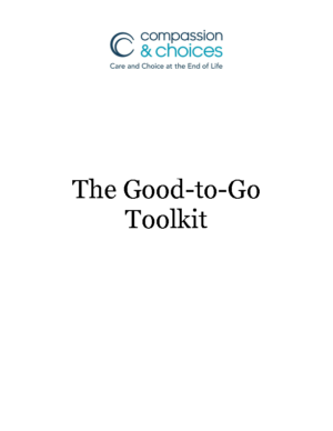 Good to Go Toolkit – Values Worksheet