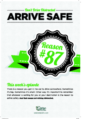 Dont Drive Distracted – Reason #87